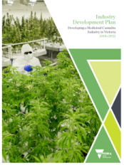 Image of Industry Development Plan Developing a Medicinal Cannabis Industry in Victoria