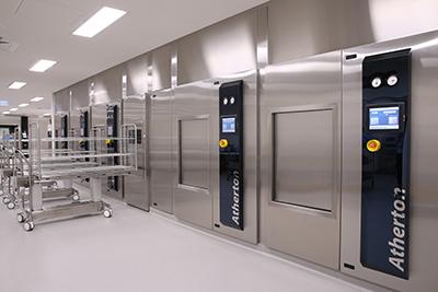 Hospital equipment at Atherton