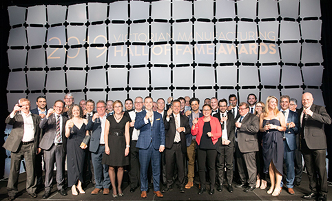 2019 Victorian Manufacturing Hall of Fame Awards winners